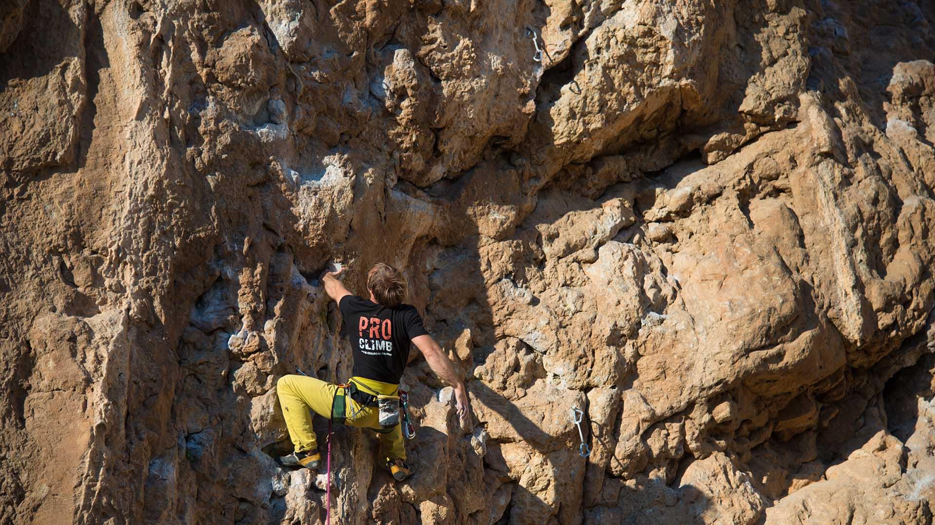 Скалолазание в Испании с proclimbtrip