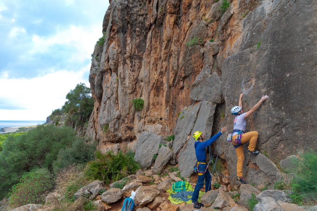 Скалолазание на Сицилии. Скалолазные выезды, скалолазные путешествия, скалолазные сборы с тренером на Сицилии