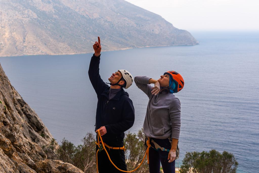 Скалолазание на Калимносе с Клубом скалолазания proClimb. Скалолазные сборы и туры в Греции на Калимносе с тренером.